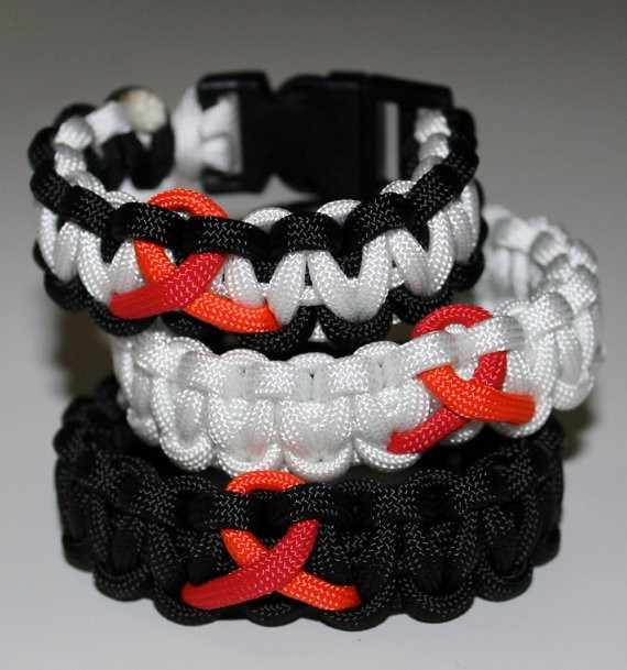"Bracelet Cobra Ruban Rouge ""Sidaction"""