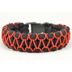 Bracelet Cobra Zipper Paracord