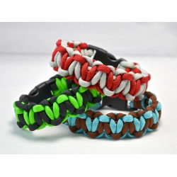 Bracelet Cobra Coeurs Paracord