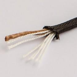 flame cord black - Paracord Survival (paracord à feu noir)