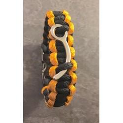 Bracelet Parachutiste Cobra Paracord
