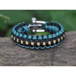 Bracelet Cobra trait central