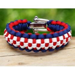Bracelet Damier Paracord