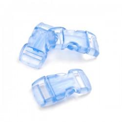Boucle rapide plastique transparente (petites)