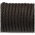black snake  - Paracord type IV 750 (serpent noir)