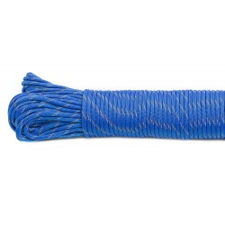 blue  - Reflective Paracord 550 type III (bleu)