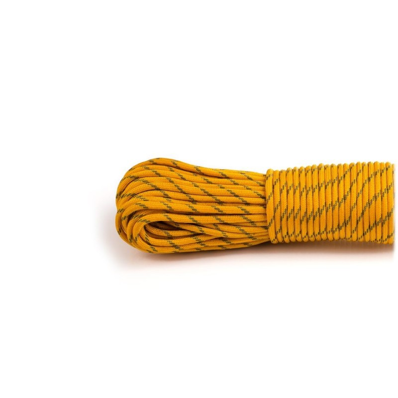 golden rod  - Reflective Paracord 550 type III (tige d'or)