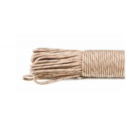 tan - Reflective Paracord 550 type III (bronze)