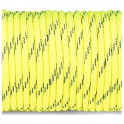sofit yellow  - Reflective Paracord 550 type III (jaune doux)