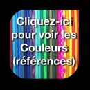 Correspondance couleurs/réf.